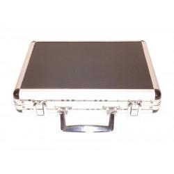 Utazó humidor, párásítóval és ajándék szivarvágóval - alluminio, Brebbia