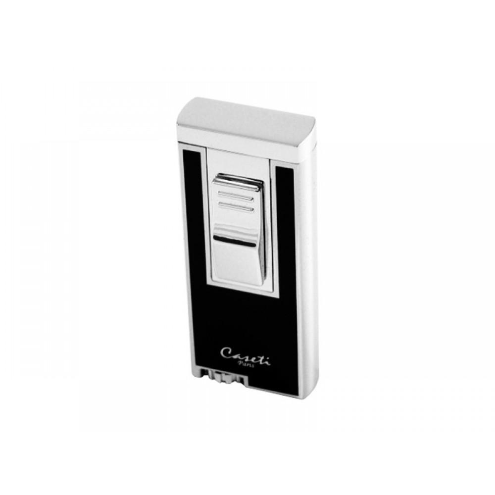 Caseti Nantes szivaröngyújtó - fekete/ezüst