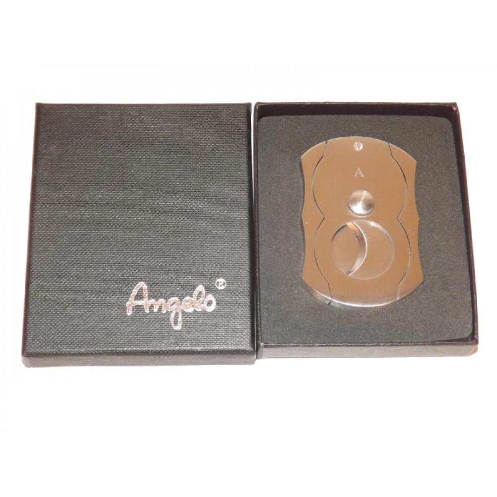 Szivarvágó - Nemesacélból, ezüst Angelo
