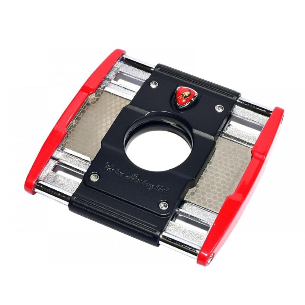 Lamborghini Precisione szivarvágó - piros/fekete
