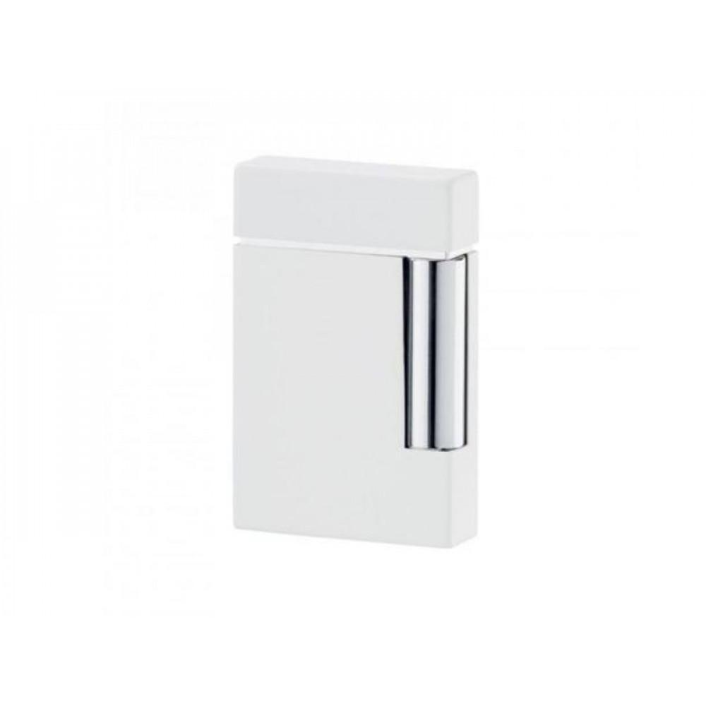 Szivaröngyújtó ST Dupont - króm/fehér