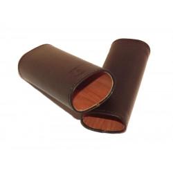 Ambiente Szivartok - 2 szivar részére, bőr, 12cm