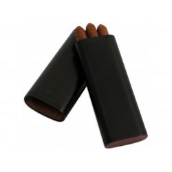 Ambiente Szivartok - 3 szivar részére, bőr (17x6cm)