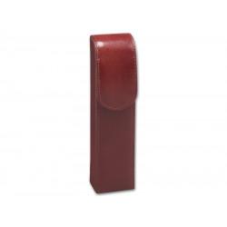 Szivartok - 2 szivar részére, barna bőr (160x40x25mm)