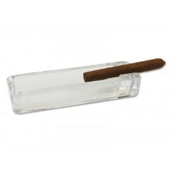 Szivar hamutál - üveg (20x6cm)