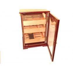 Gasztro Humidor kb. 50-60 szál szivar tárolására, cédrusfából, kulccsal zárható