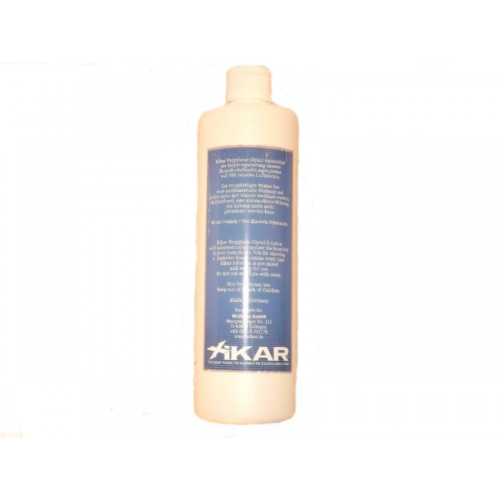 Xikar Propylen-glykol folyadék, akrylpolimer kristályos párásítóba - nagy, 500ml-es!