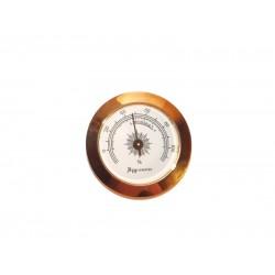 Humidor hygrométer - arany színű