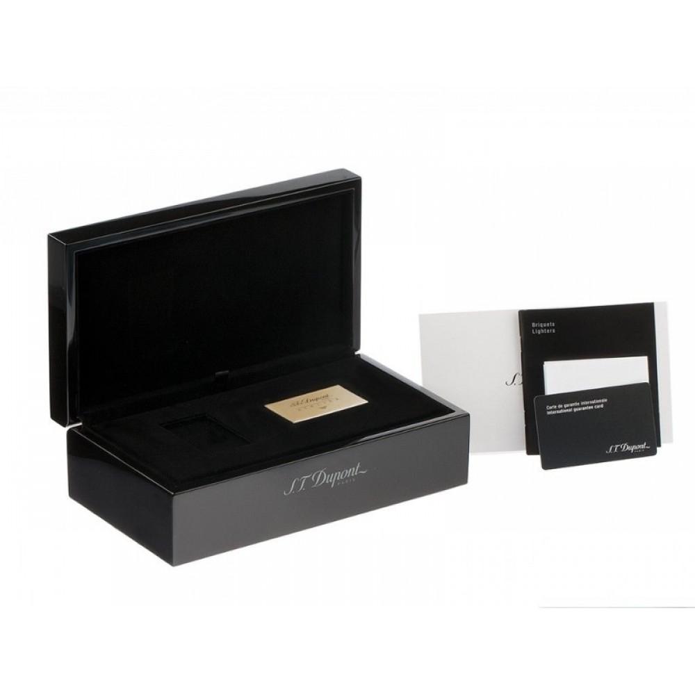 Szivaröngyújtó S.T. Dupont L2 Atelier - tengerkék/arany