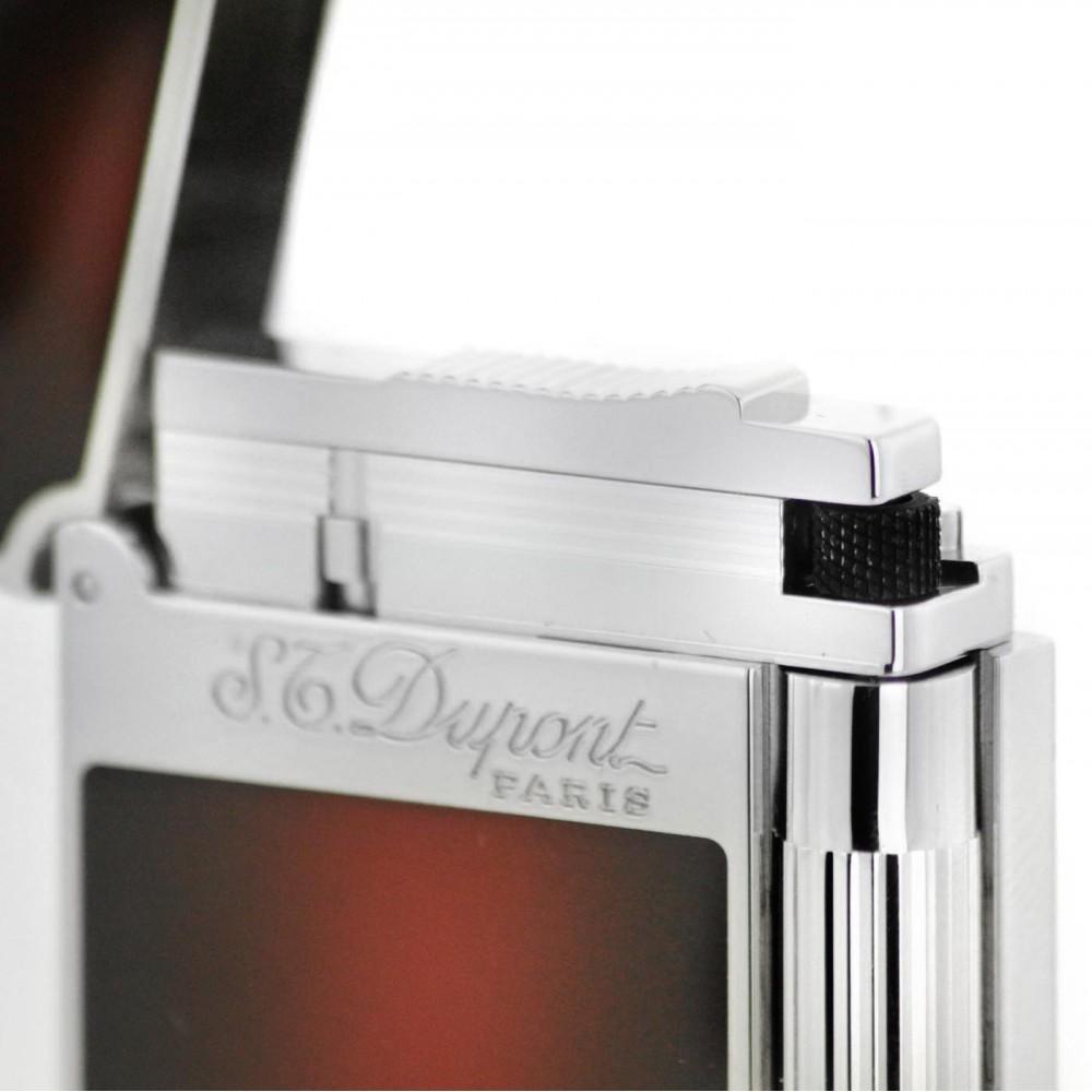 Szivaröngyújtó S.T. Dupont Atelier L2 - bordó/ezüst