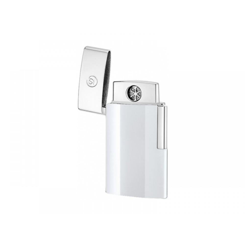 Szivaröngyújtó S.T. Dupont E-Slim USB - fehér/króm