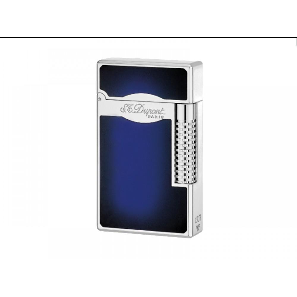 Szivaröngyújtó S.T. Dupont L2 LE Grande - kék/ezüst