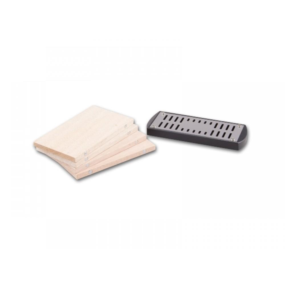 Humidor 60 szál szivar részére, cédrusfa szivar doboz, üvegtető, hygrométerrel és párásítóval - fekete