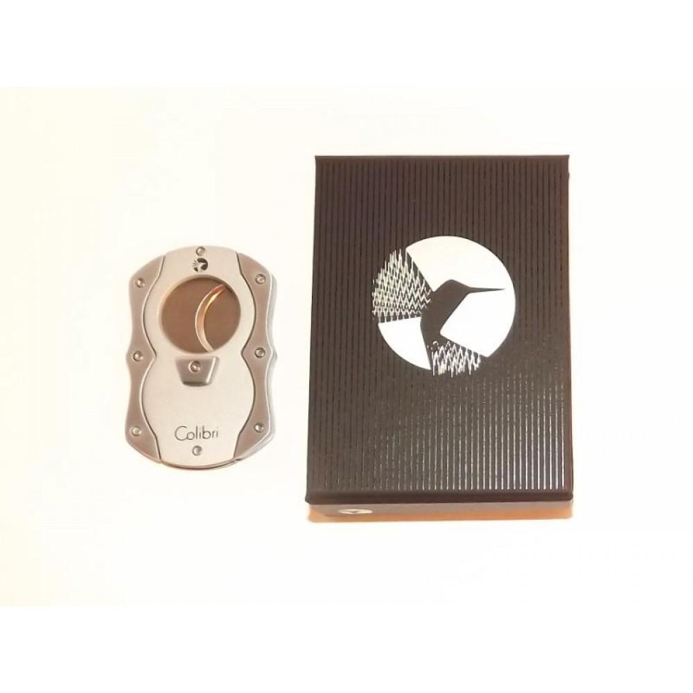 Colibri Szivarvágó - Nemesacélból, ezüst