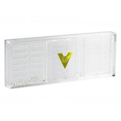 Humidor-párásító - átlátszó, akrylpolimer kristályos (170x65x18mm)