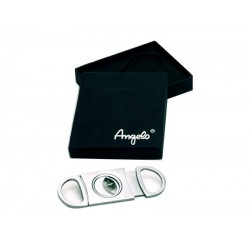 Kétujjas szivarvágó vékony - Angelo, fém