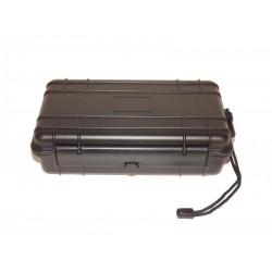 Utazó humidor - műanyag, Angelo szivartároló doboz, párásítóval